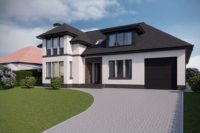 Giffnock New Build - Street View