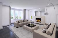 Giffnock New Build - Lounge